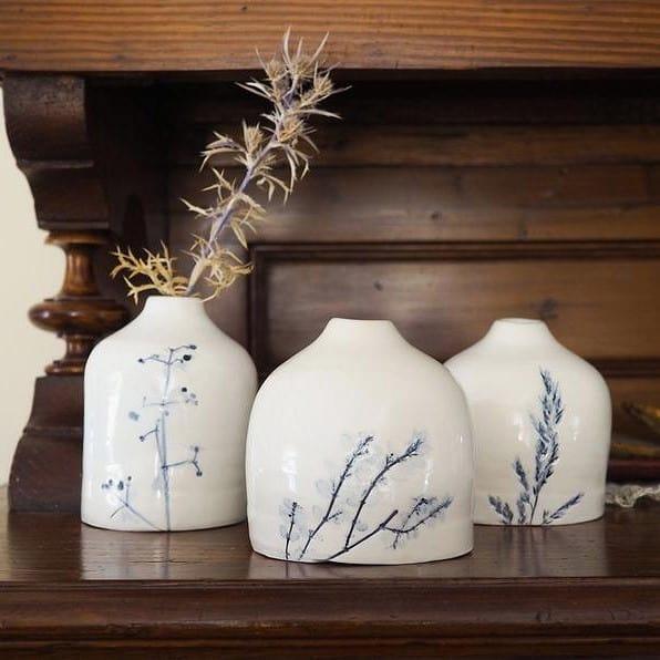 vasetti ceramica botanica Erbacea LAB