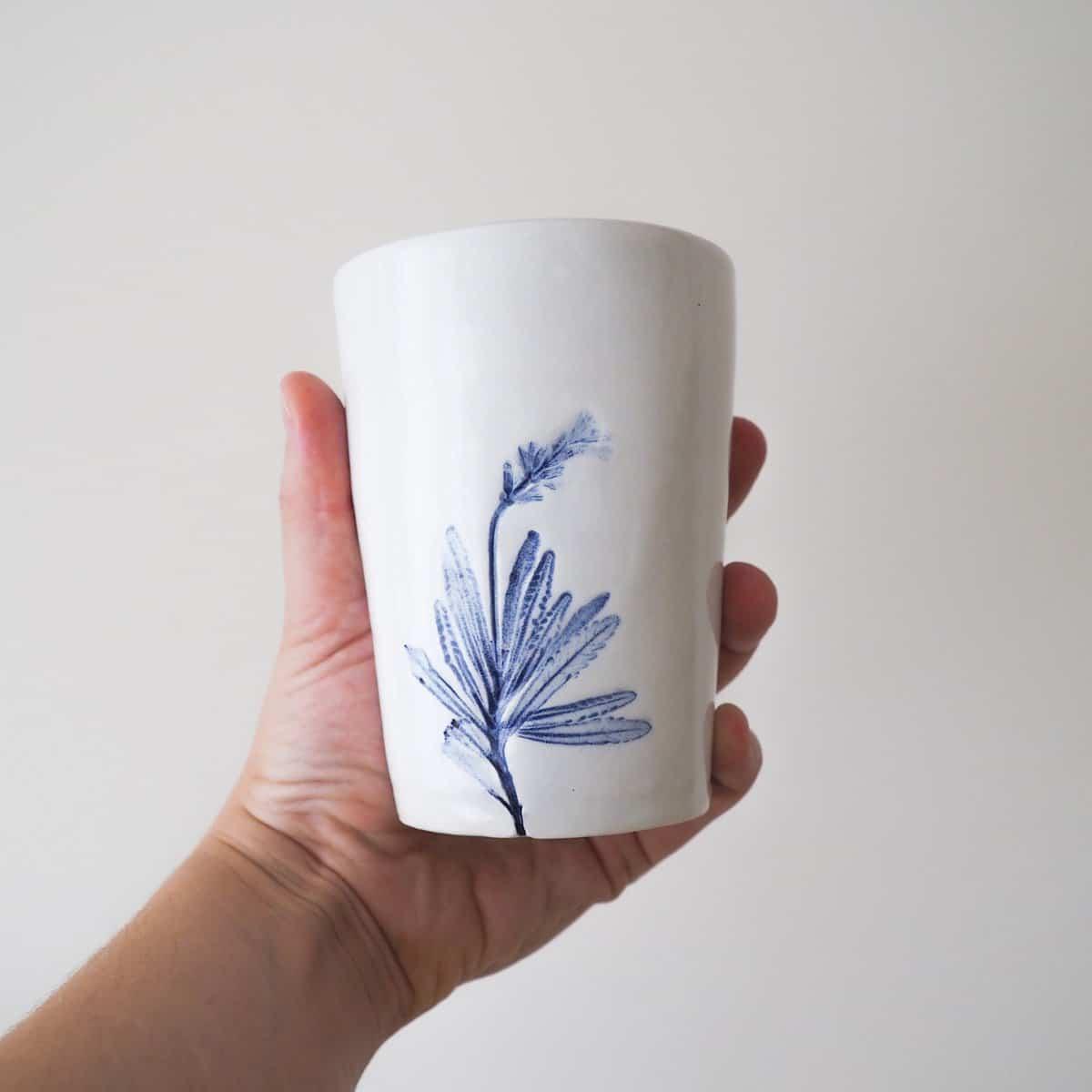 Ceramica botanica Erbacea LAB