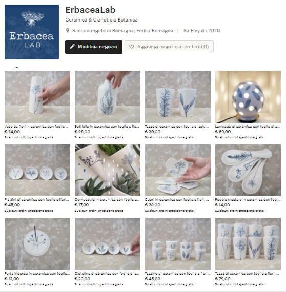Erbacea LAB negozio online
