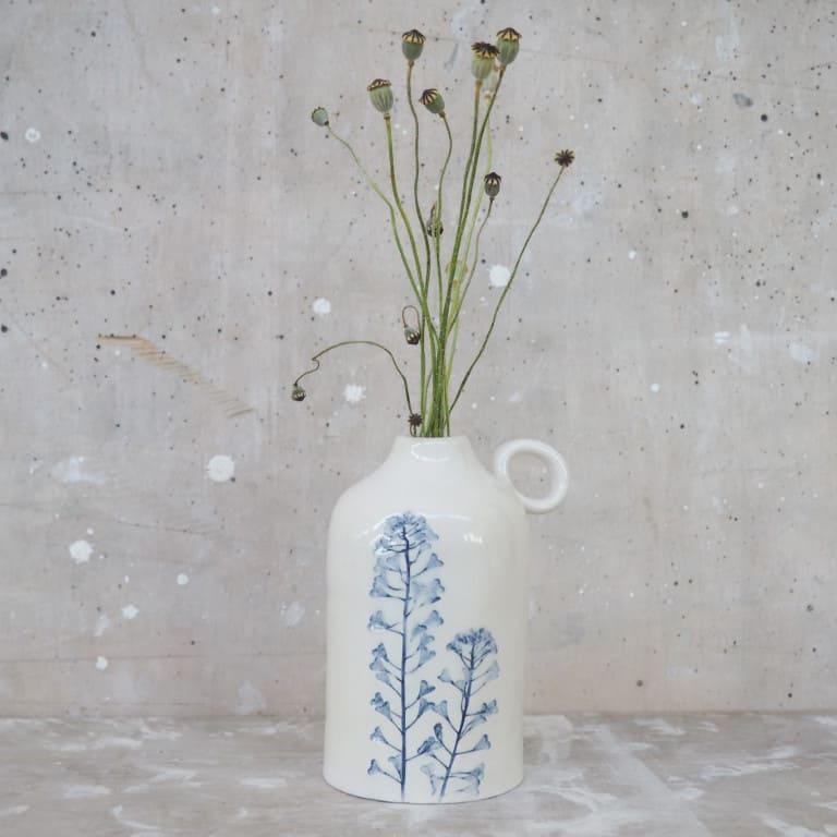 ceramica Rimini bottiglietta oliera vaso da fiori Erbacea LAB