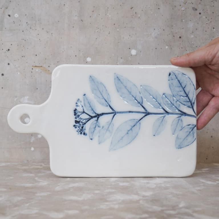 ceramica Rimini tagliere Erbacea LAB