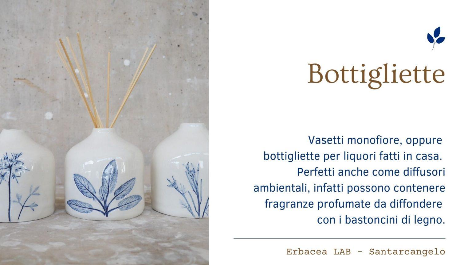 Bomboniere in Ceramica - bottigliette