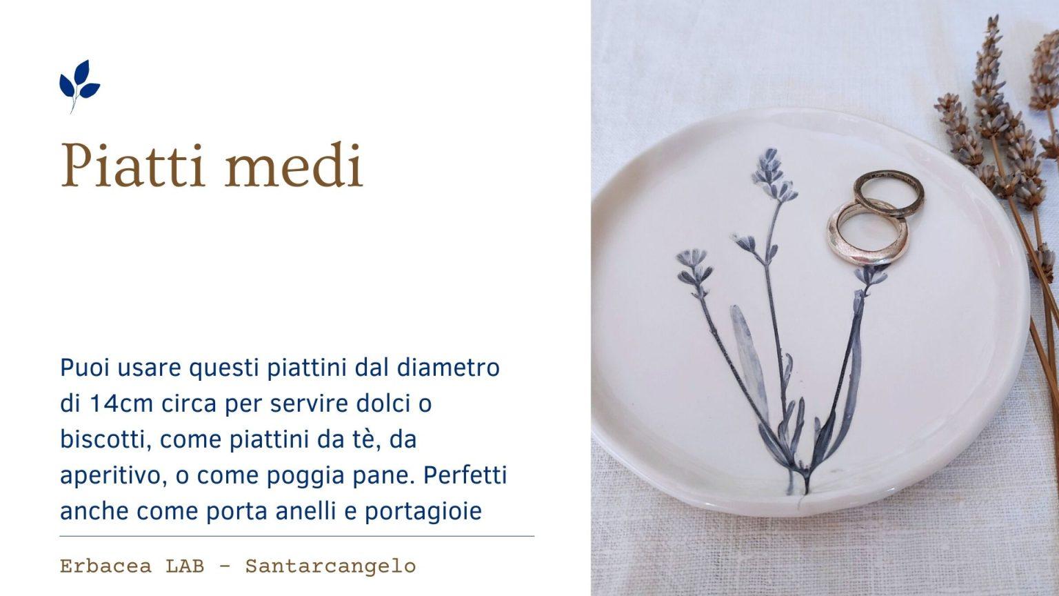 Bomboniere in Ceramica - piatto