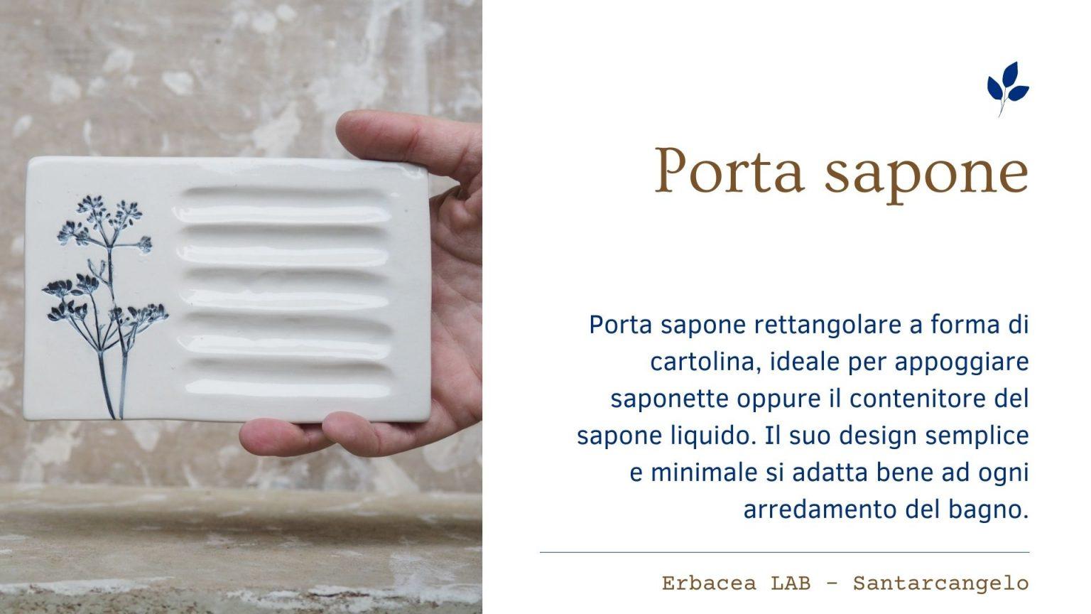 Bomboniere in Ceramica - porta sapone