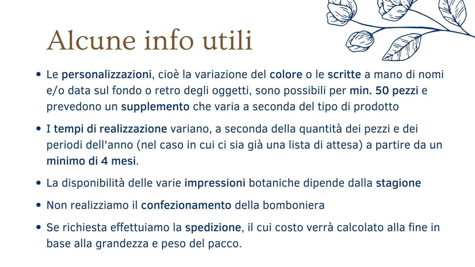 Bomboniere in Ceramica a Rimini