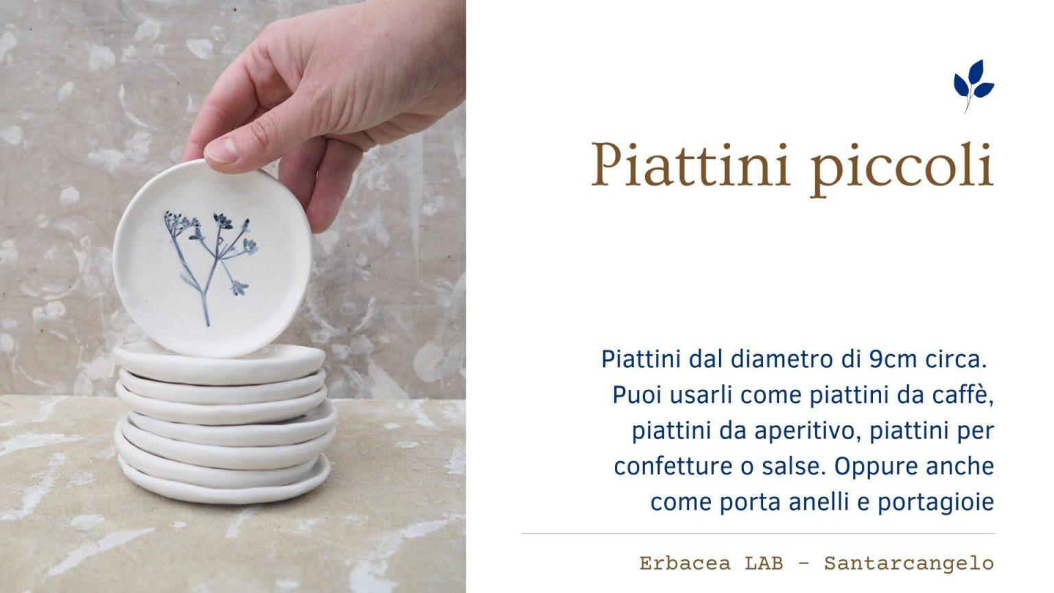 Bomboniere in Ceramica - piattini
