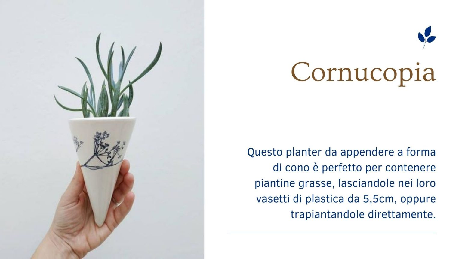 Bomboniere in Ceramica - planter