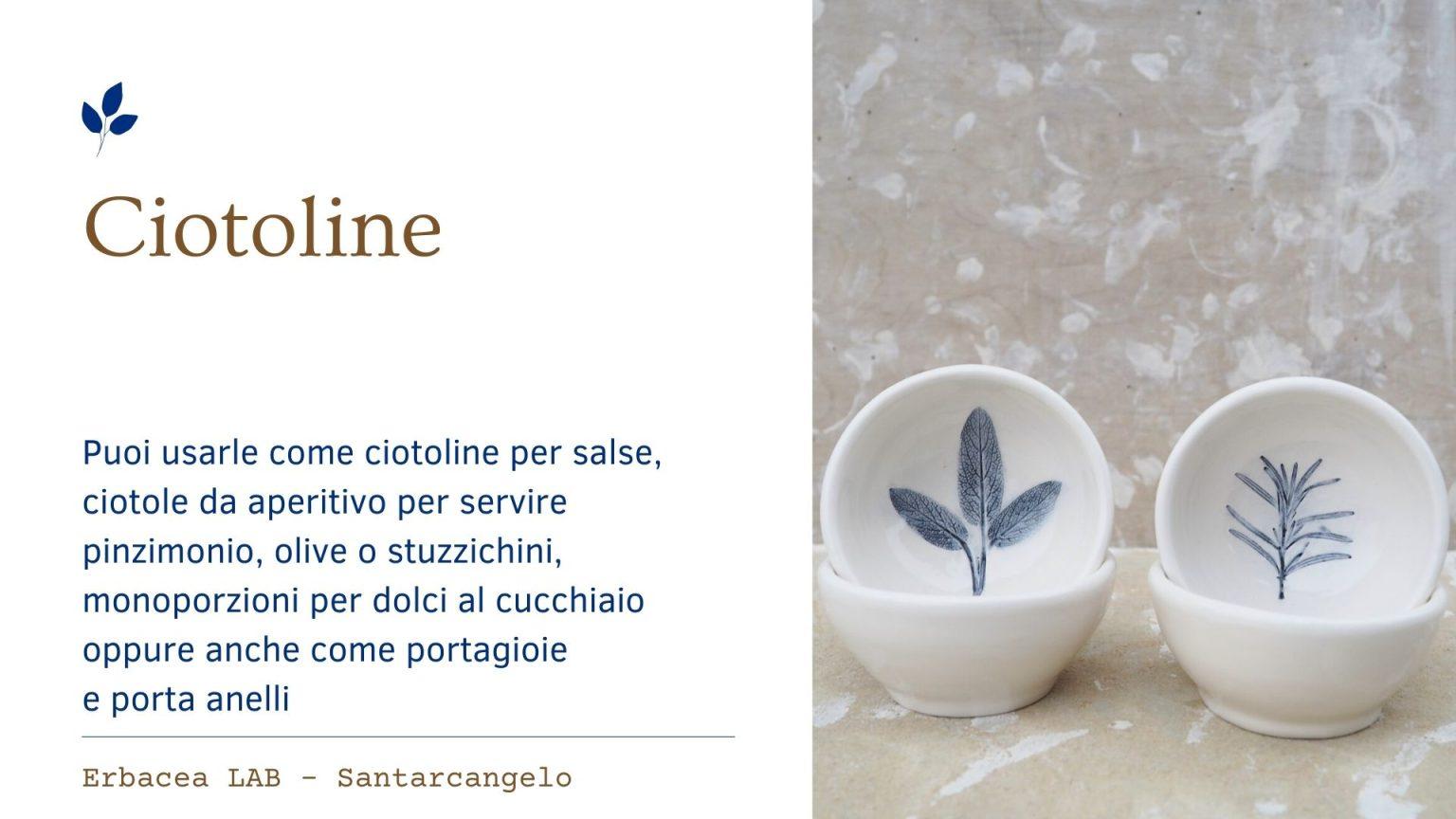 Bomboniere in Ceramica - ciotoline